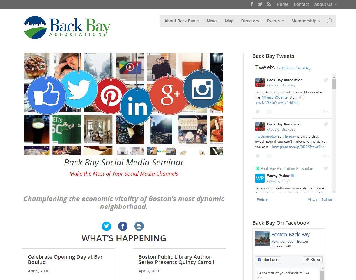 Boston Back Bay Association