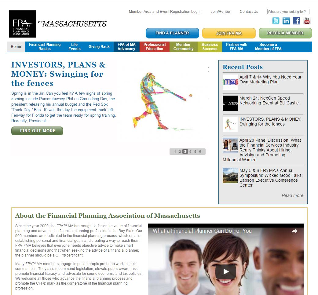 Financial Planning Association of Massachusetts