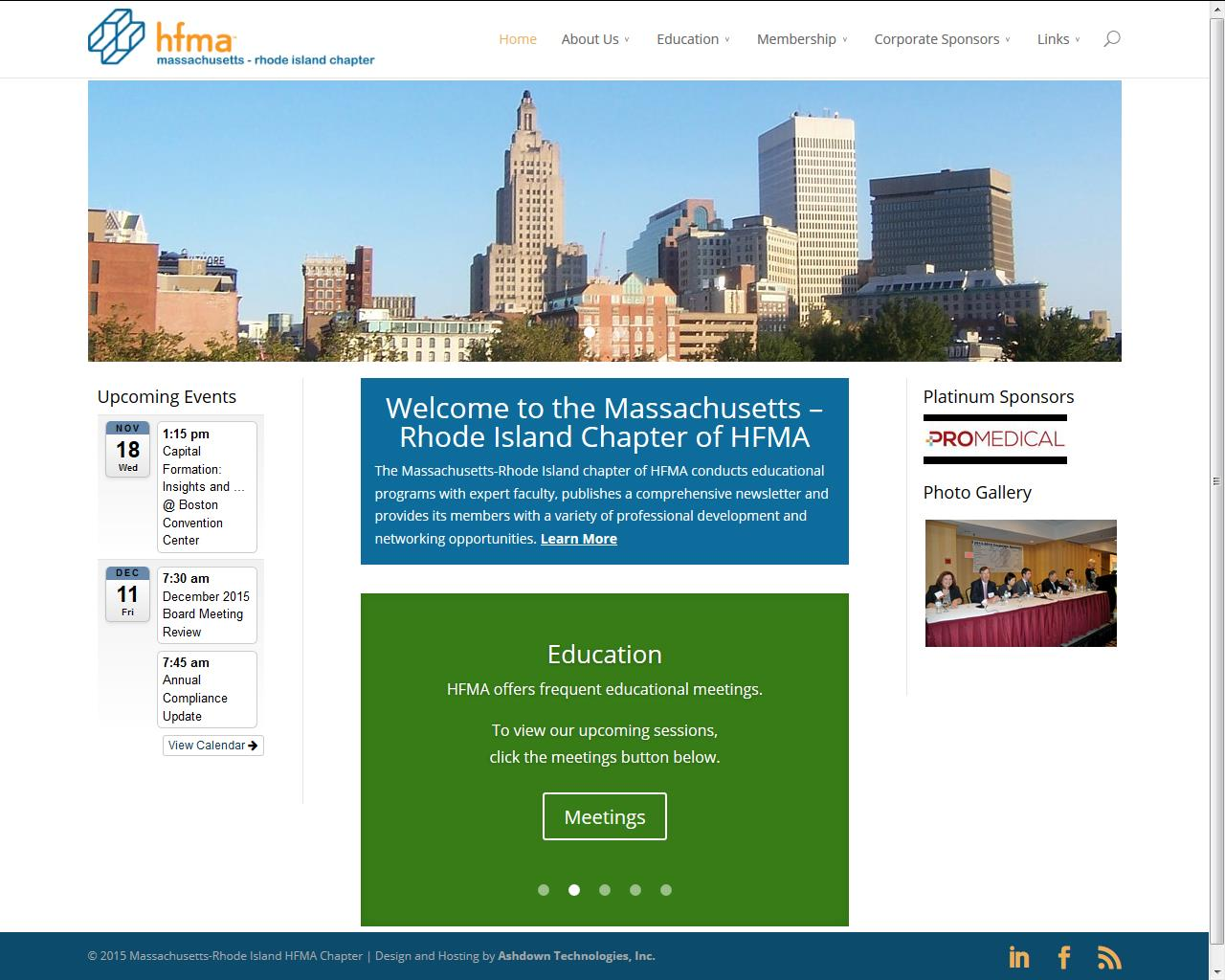 Massachusetts - Rhode Island Chapter of HFMA
