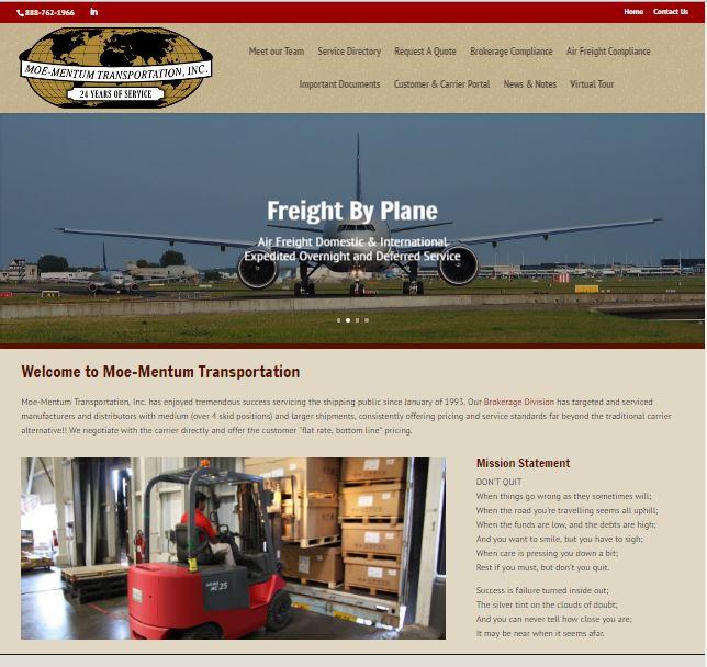 Moe-Mentum Transportation, Inc.